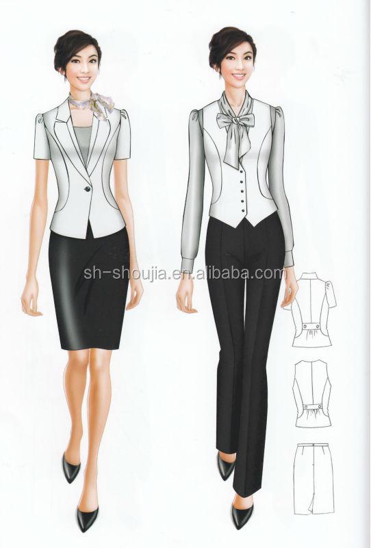 casual office uniformladies office uniformgirls business