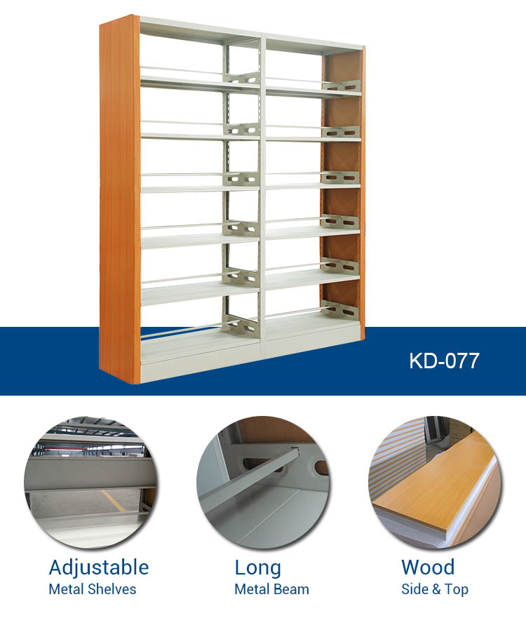 Office Save Space Steel Iron library bookshelf