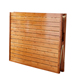 Bed design folding sheets people home adult portable double solid wood nap simple bamboo outdoor bed