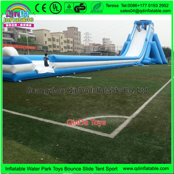2017crazy and popular inflatable slide for pool gaint adult size inflatable city slide for CE certification
