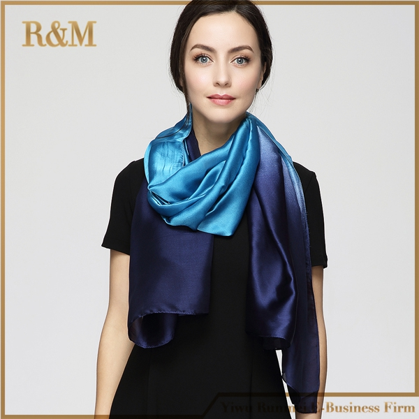 180 cm * 90 cm women 2017 new fashion Designer Mix color All match long silk scarf large shawl