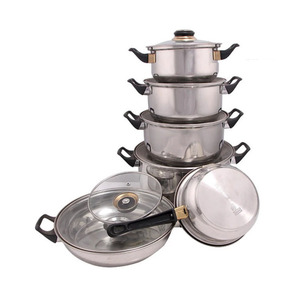 New design 6 pcs set indian cooking utensils