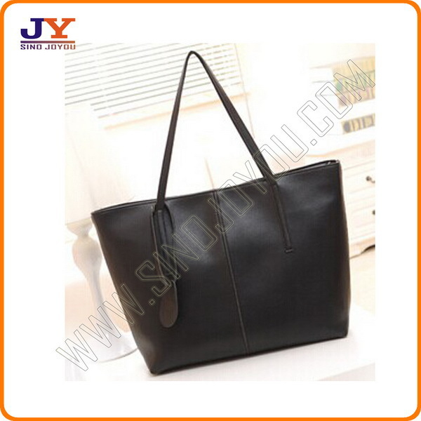 Factory Offer OEM leather hand bags pvc tote bag