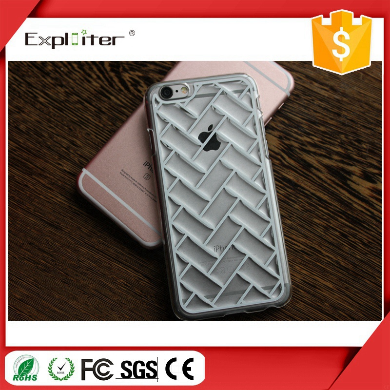 Hot selling guangzhou crystal TPU channel cell phone accessories