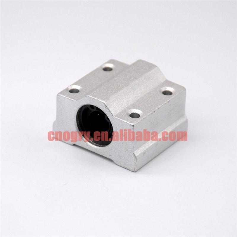 SCS8UU 8mm Linear motion slide units bearing block Al Rail guide shaft CNC SI SS