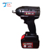 Hot selling product lithium impact electric wheel cordless wrench