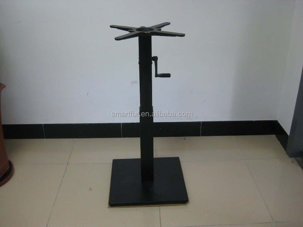Wholesale trumpet antique cast iron industrial metal table for Cast iron table legs for sale