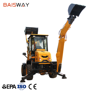 cheap mini tractor backhoe loader 0.5m3
