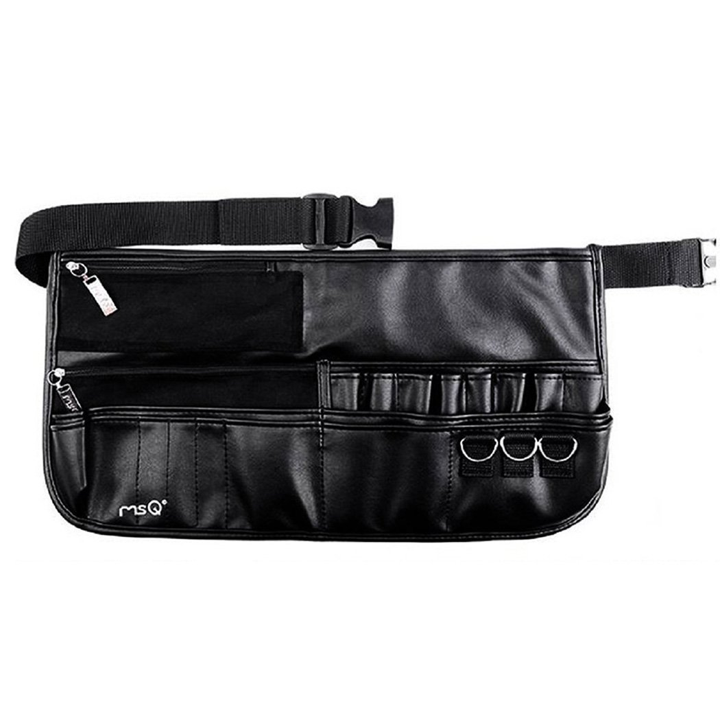 Get Quotations · MSQ Makeup Brush Belt Apron Bag Case Multi Pocket Foldable  Fanny Pack Cosmetic Brush Pouch Holder 7eb42ce4b9d56