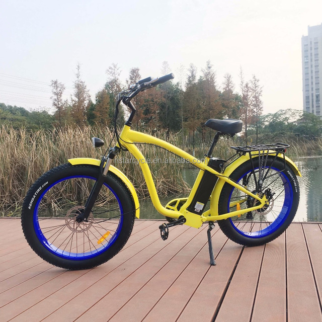 used electric bicycles bike electric mens beach cruiser for outdoor riding