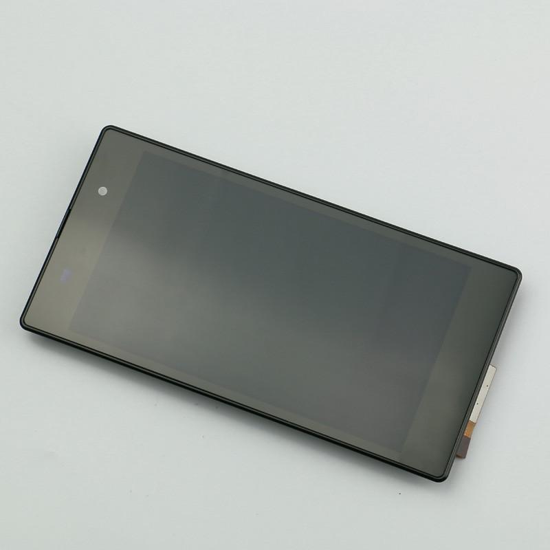 Черный жк-дисплей сенсорный экран планшета для Sony Xperia Z1 жк-рамка для Xperia Z1 L39h C6902 C6903 C6906 C6943