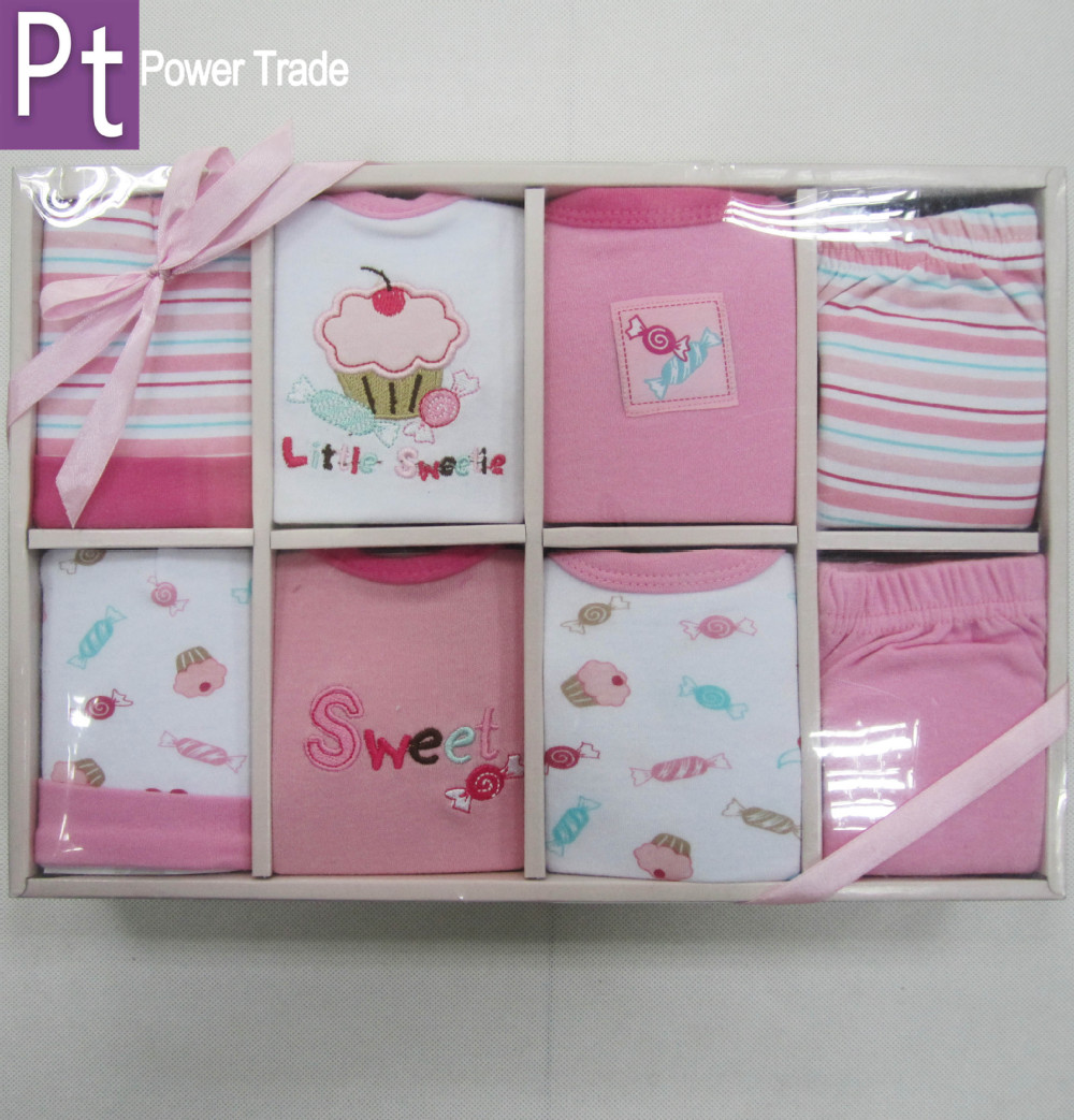 Newborn Baby Clothes Gift Set/baby Wear/infant Garment/new Born ...