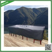 Polyester waterproof garden furniture set cover garden table cover