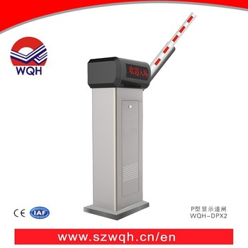 Automatic Parking Lot Fence Led Barrier Gate With Led Display ...