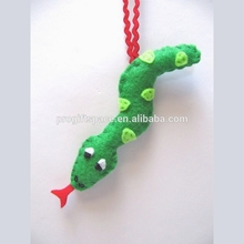 2018 <span class=keywords><strong>Serpente</strong></span> <span class=keywords><strong>Ornamento</strong></span> Di Natale Feltro Holiday Ornament made in China