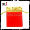 High quality promotional drawstring velvet pouch bags