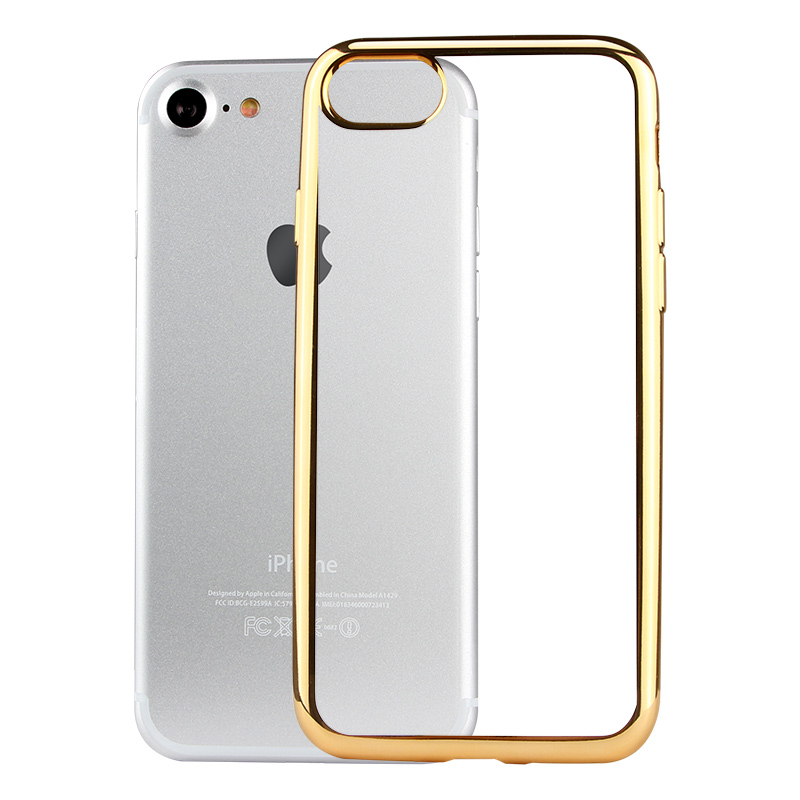 Ultra Thin Electroplate TPU Case for iPhone, BRG Newest Fashional Protective Case For Sale
