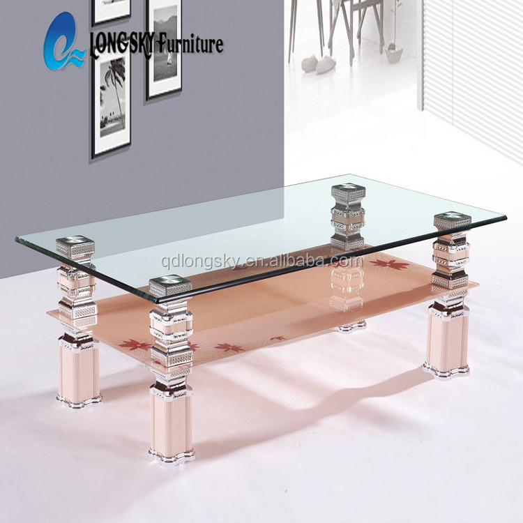 Amazing Ls 1077 Glass Coffee Table For Home Furniture Tea Table Design 2 Layer Glass Coffee Table Buy Glass Coffee Table For Home Furniture Tea Table Machost Co Dining Chair Design Ideas Machostcouk