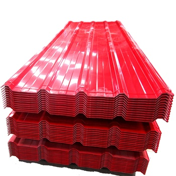 Professional Supplier RAL color 0.2mm corrugated PPGI steel/metal/iron roofing sheet