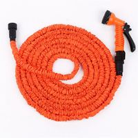Newest selling 25FT 50FT 75FT 100FT Magic Latex garden expandable flexible hose/garden hose reel cart
