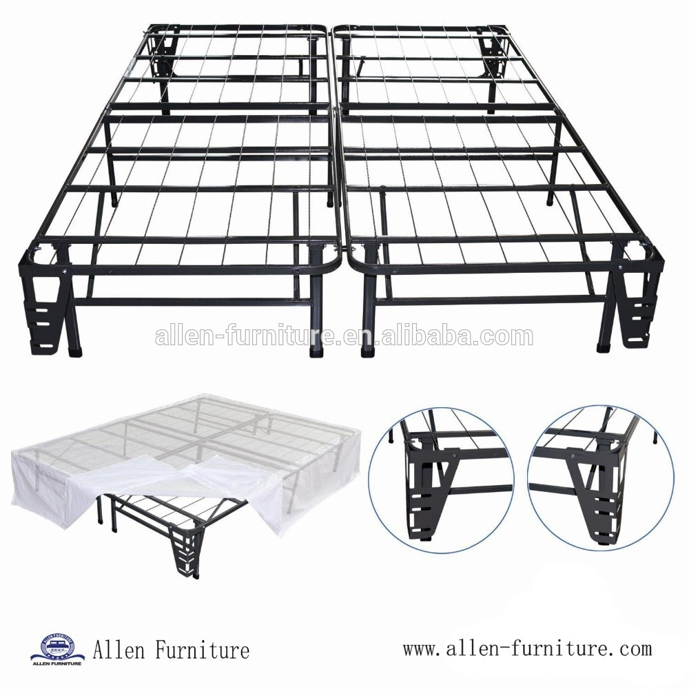 - Assembly In Minutes,Queen Size Heavy Duty Luxury Metal Folding Bed