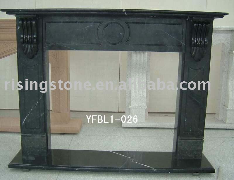 schwarzer marmorkamin kaminsims sandstein kamine granit kamine kamin teile produkt id. Black Bedroom Furniture Sets. Home Design Ideas