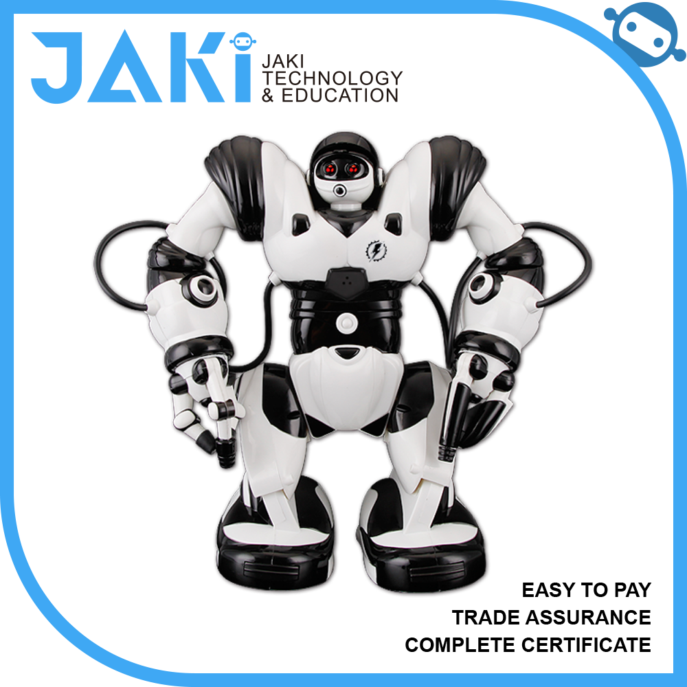 Real multi-speed infrared big remote control robot education, robot programmable with 54 functions