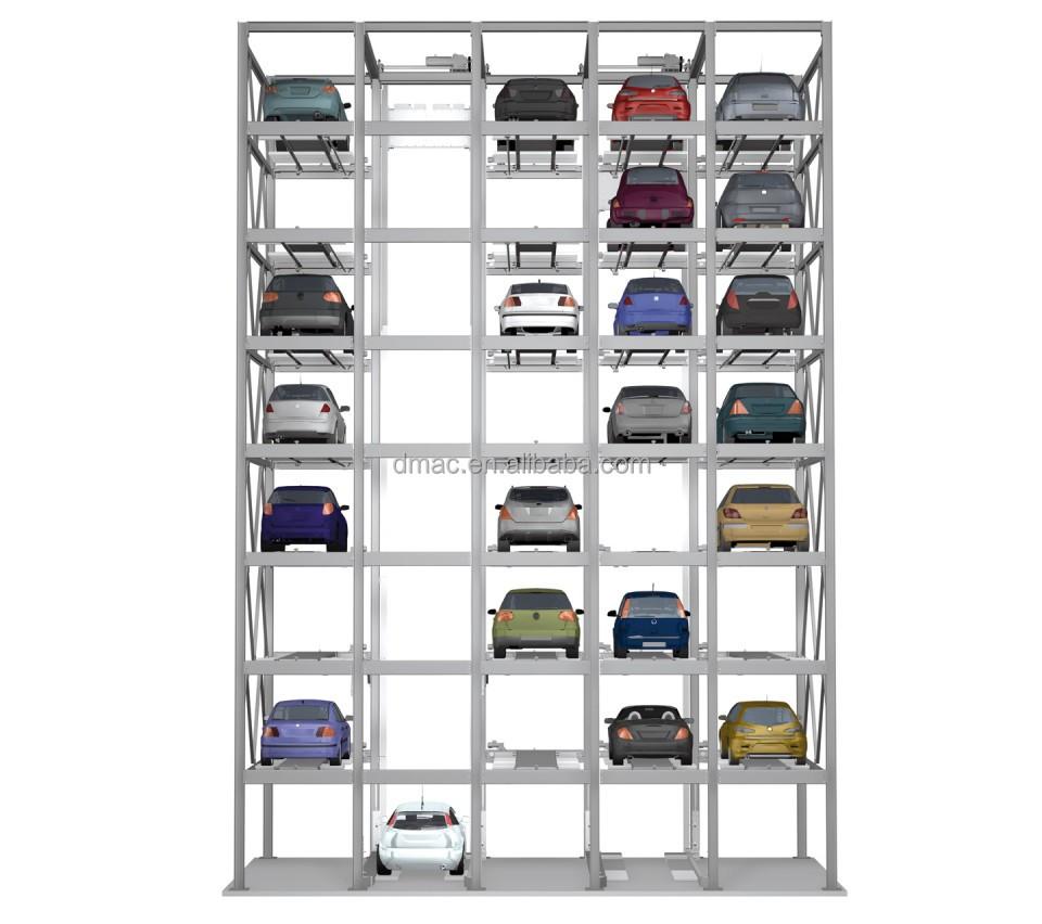 Car Lift Parking Automated Garage Car Stacking Vertical Parking