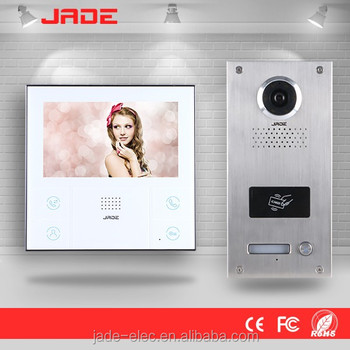Great Design Optional Built In Rfid Card Readers Wireless Video