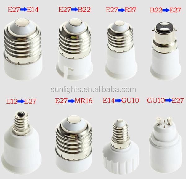 Conversion Lamp Holder E14 Change To B22 Lamp Base Lamp Adapter ...