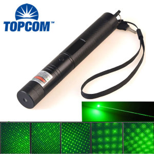 High Power Rechargeable Red Blue Green Laser Pointer 303 50mW 100mW