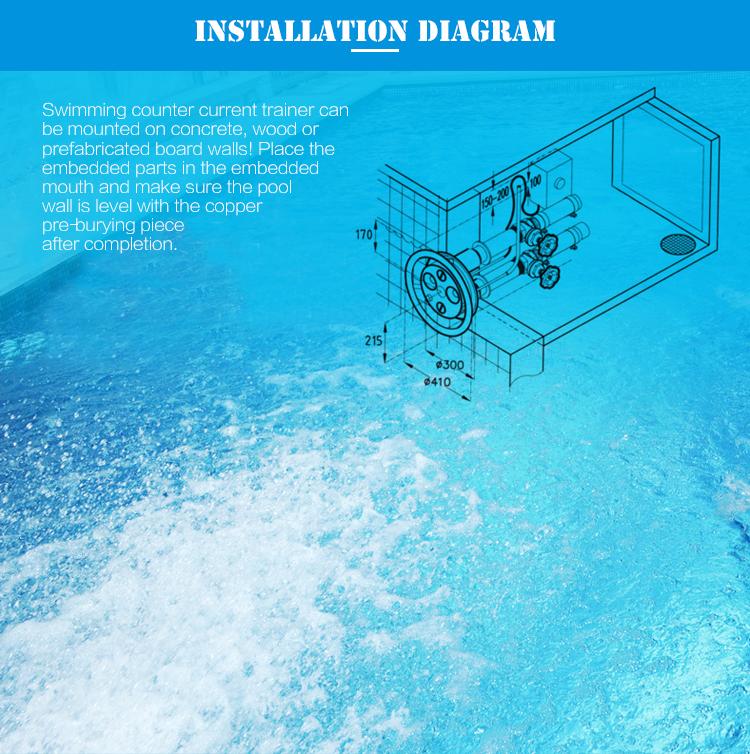 Piscina piscina idromassaggio productsswim jet contatore corrente piscina