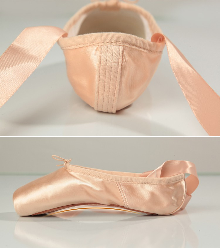 116131009  Wholesale baiwu professional  female ballet pointe shoes for sale