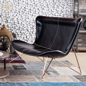 Lounge Chair Leather Leisure Chair Reclining Chair For Living Room