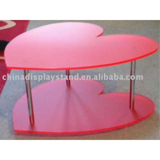 Acrylic Perspex Heart Shaped Table Buy Acrylic Table Acrylic Tea