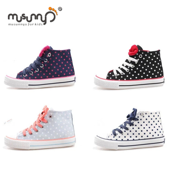 7b89def865f3 japanese style children shoes girls sneakers high cut fashion canvas shoes  for girls