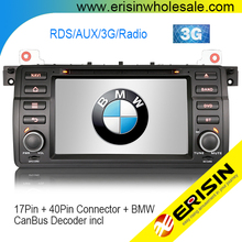 Erisin ES7146B 7 inch Autoradio Auto multi-media Stereo DVD Player MTK GPS 3G WIFI für E46