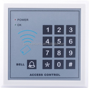 Durable IC ID card reader door access controller for alone door