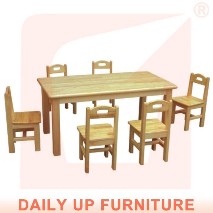Madera maciza escritorio preescolar 120 60 cm de madera ni os infantiles mesa de muebles mesa de - Mesas madera ninos ...