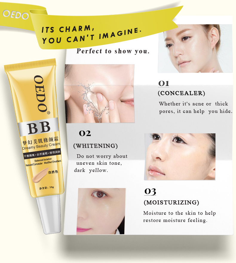 High quality cheap economy oedo dream beauty bb cream