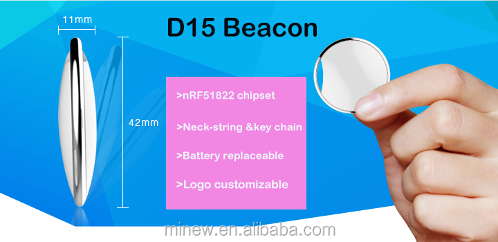 Bluetooth nRF51822 iBeacon Protable UFO Beacon, ibeacon tag