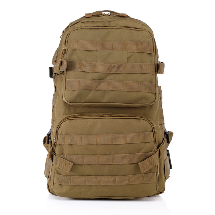 Outdoor sport camping assault back pack army fan military tactical MOD molle durable travelling mountaineering bag backpack
