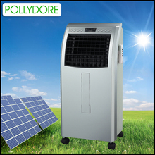 2017 New ideas small room use solar power DC12V 6L water tank air cooler