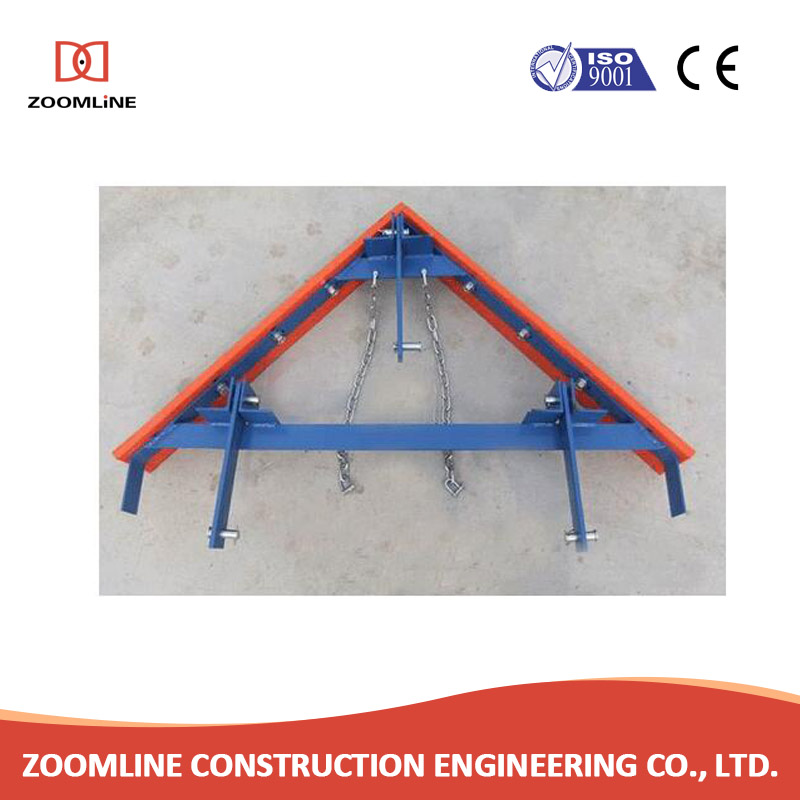 V plough conveyor belt cleaner