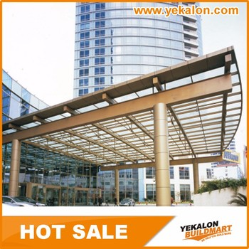 Professional Top Design Direct Price Stainless Steel Frame Glass Sail Outdoor Canopy Roof From China Manufacturer & Professional Top Design Direct Price Stainless Steel Frame Glass ...