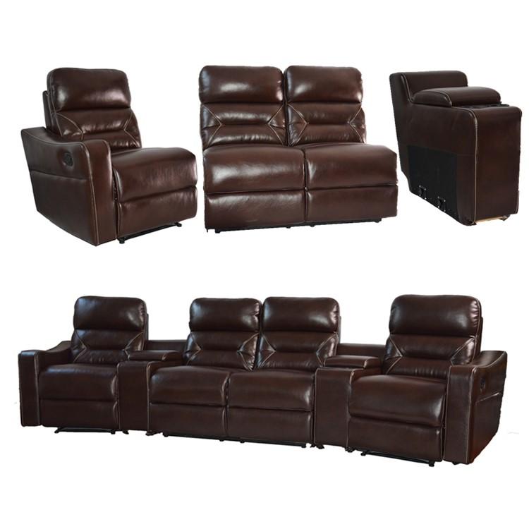 Home Theatre System Furniture Vip Cinema Sofa Seat Made In China