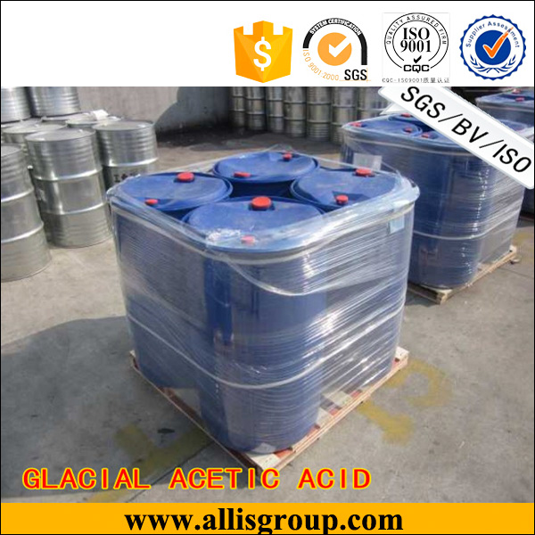 Supply bulk CH3COOH glacial acetic acid 95%