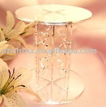 2 Tier Round Heart Shape FLAT-PACK Perspex Cupcake Stand;2 Tier 5mm/6mm Thick Clear Acrylic Round Heart Shape Cupcake Stand