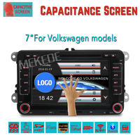 7inch double din universal car dvd player with GPS bluetooth TV Ipod