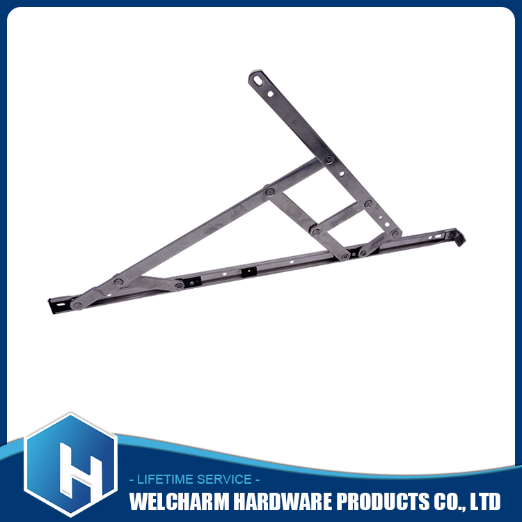 High quality UPVC window hinges friction stay